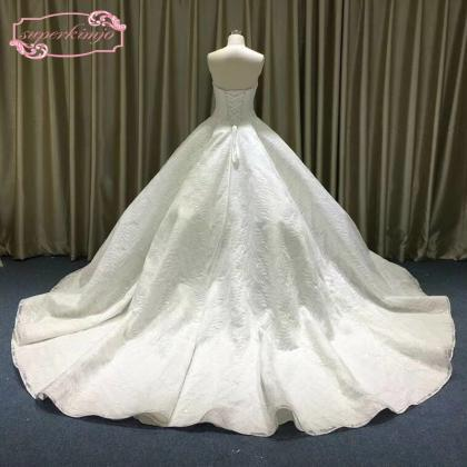 ball gown wedding dresses, puffy we..