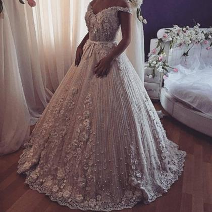 2019 wedding dresses v neck off the..