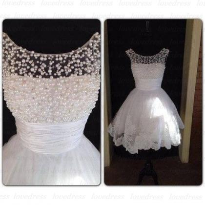 White Homecoming Dress, Peals Homec..