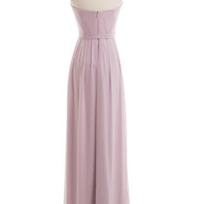 Dusty Purple Bridesmaid Dress, Long..