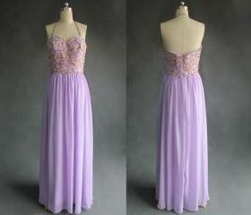 Lavender Prom Dress,..