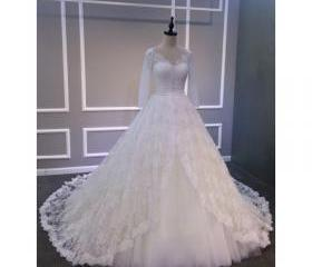 Lace Wedding Dress, ..