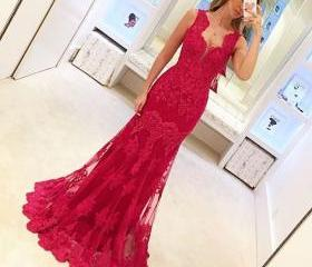 Red Prom Dresses, Sw..