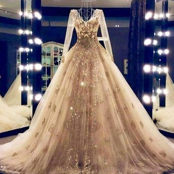 ball gown wedding dresses, 2020 wedding dresses, sequins wedding dresses, bridal dresses, long sleeve wedding dress, gold evening dresses, ball gown wedding dresses, ball gown wedding dresses, 2020 wedding dress, lace wedding dresses, gold wedding dress, sequins wedding gowns, formal dresses, arabic party dresses