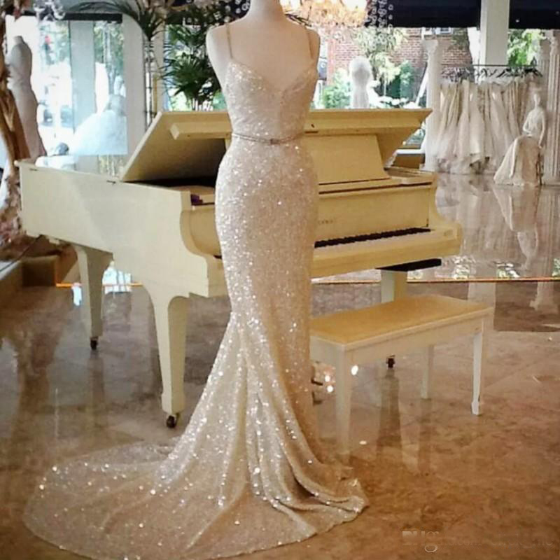 sparkly prom dresses, sequins prom dresses, mermaid prom dresses, shinning prom dresses, mermaid prom dress, sexy prom dresses, sweetheart evening dresses, beaded evening dresss, new arrival prom dresses, champagne prom dresses, new evening gowns
