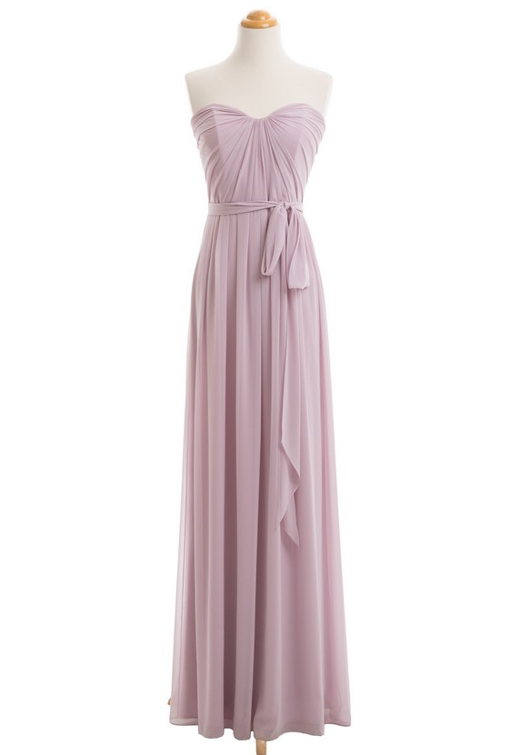 Dusty Purple Bridesmaid Dress, Long Bridesmaid Dress, Bridesmaid Dresses Cheap, 2017 Bridesmaid Dress, Chiffon Bridesmaid Dress, Bridesmaid Dresses Women