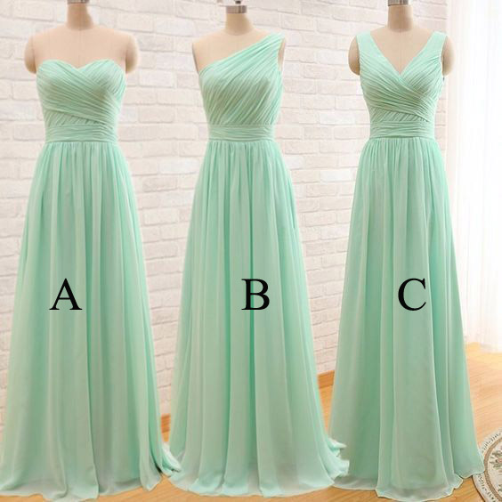 Mint Bridesmaid Dresses, Mint Green Bridesmaid Dresses, Different ...