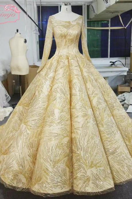 gold prom dresses, 2018 sequins prom dresses, lace prom dresses, arabic prom dresses, puffy prom dresses, vestidos de fiesta, ball gown prom dresses, ruffle prom dresses, newest evening dresses gowns, sexy prom dresses, long sleeve evening dresses
