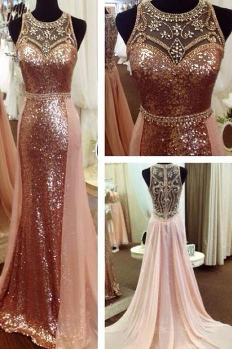 Sequins Prom Dresses, 2019 Mermaid Evening Dresses, Chiffon Prom Dresses, New Arrival Party Dresses, Beaded Evening Dresses, Crystal Prom Dresses, Cheap Formal Dresses, 2019 evening gowns