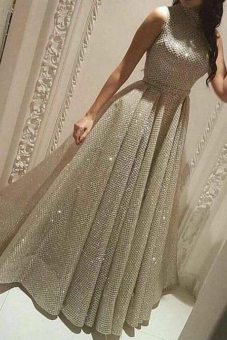 sequins prom dresses, 2020 prom dresses, ball gown prom dresses, a line prom dresses, arabic prom dresses, lace prom dresses, sparkly evening dresses, fashion evening dresses