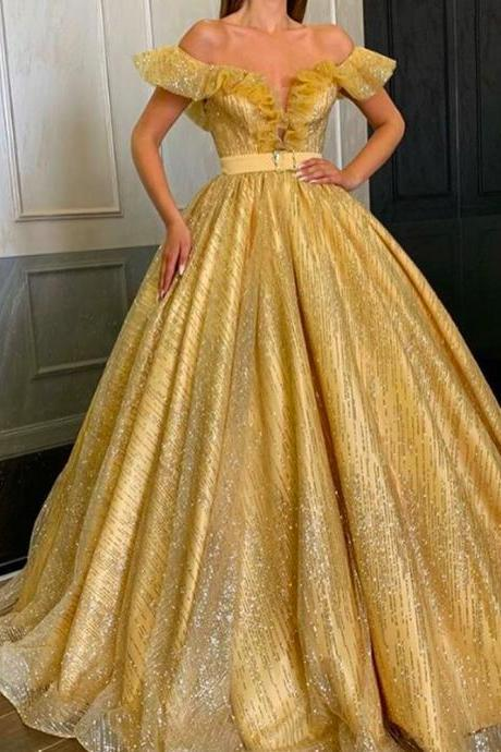 gold prom dresses, off the shoulder prom dresses, sparkly prom dresses, sequins prom dresses, sparkly evening dresses, sliver prom dresses, 2020 evening dresses, gold prom dress, 2020 formal dresses, sliver formal dresses, gold formal dresses, shinning evening dresses, off the shoulder prom dress, sequins evening dress