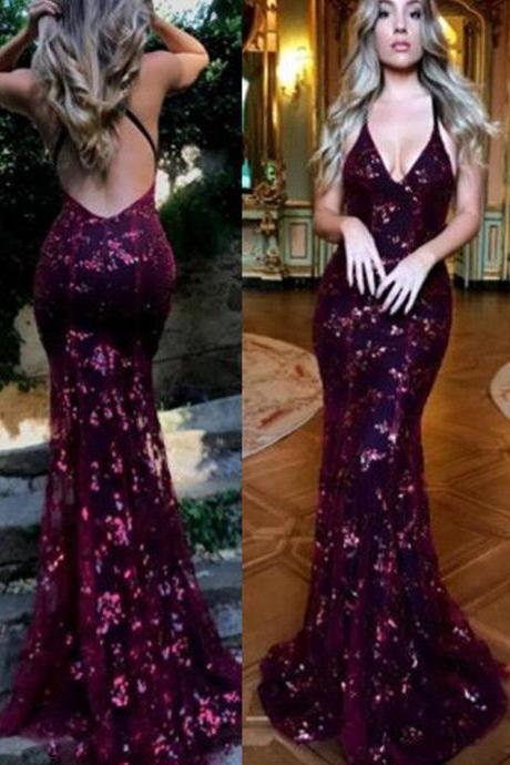 burgundy prom dresses, backless prom dresses, mermaid prom dresses, sequins prom dresses, deep v neck prom dresses, mermaid evening dresses, flowers prom dresses, lace prom dresses, arabic prom dresses, 2020 prom dresses, burgundy evening dresses, 2020 formal dresses, cheap prom dresses, lace evening gowns, sparkly prom dresses, shinning evening dressses