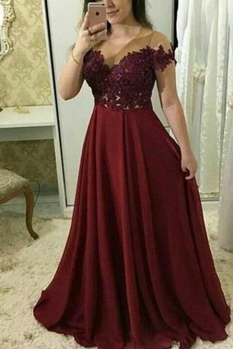 lace prom dresses, 2020 prom dresses, wine red prom dresses, lace evening dresses, a line prom dresses, wine red evening dresses, chiffon prom dresses, red evening gowns, lace formal dresses, off the shoulder prom dresses, new arrival prom dresses, 2020 prom dresses