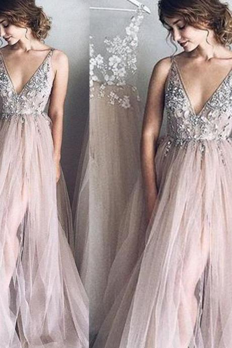 lace prom dresses, beading prom dresses, side slit prom dresses, pink prom dresses, crystal prom dresses, a line evening dresses, beading evening gowns, arabic prom dresses, cheap prom dresses, tulle prom dresses, evening dresses, 2020 prom dresses, evening gowns, crystal evening gowns, formal dresses, 2020 prom dress, arabic prom dresses, side slit evening dress