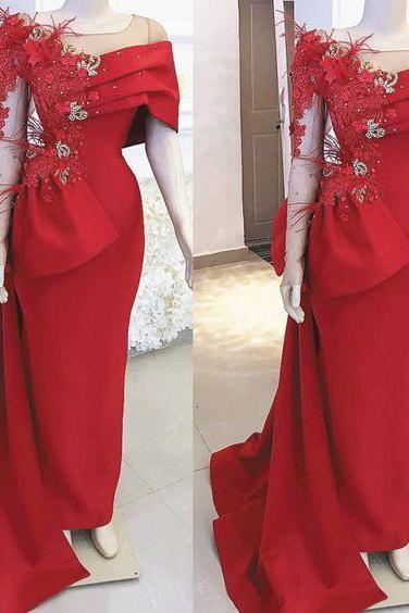red prom dresses, 2020 prom dresses, feather prom dresses, lace prom dresses, arabic prom dresses, side slit prom dresses, feather prom dresses, crystal prom dresses, feather evening dress, cheap evening dresses , red evening dress, bow prom dresses, formal dresses, lace prom dresses