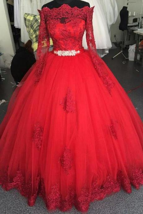 vintage prom dresses, 2020 prom dresses, red prom dresses, long sleeve prom dresses, sashes prom dresses, crystal prom dresses, lace prom dress, evening dresses, arabic prom dresses, off the shoulder prom dresses, 2020 prom dress, red party dresses, vestidos de fiesta