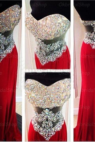 crystal prom dresses, 2020 prom dresses, mermaid prom dresses, red evening dresses, 2020 formal dresses, crystal evening dresses, chiffon party dresses, arabic evening dresses, new arrival formal dresses, sexy party dresses, cheap evening gowns