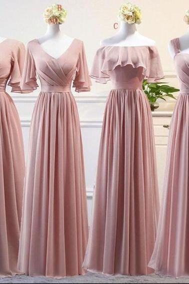 chiffon bridesmaid dresses, long bridesmaid dresses, long bridesmaid dress, new arrival bridesmaid dress, chiffon evening dresss, cheap bridesmaid dress, 2020 bridesmaid dress, sexy bridesmaid dresses, fashion bridesmaid dresses