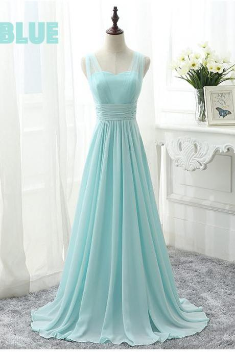 mint green bridesmaid dresses, long bridesmaid dresses, a line bridesmaid dresses, chiffon bridesmaid dresses, long wedding party dresses, arabic bridesmaid dresses, pleats bridesmaid dress, blue wedding party dresses