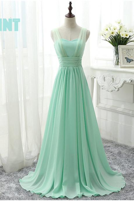 mint green prom dresses, green bridesmaid dresses, pleats bridesmaid dresses, a line bridesmaid dresses, court train bridesmaid dresses, a line bridesmaid dress, 2020 bridesmaid dresses, formal dresses, prom dresses, 2020 party dresses
