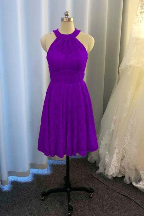 purple bridesmaid dresses, halter bridesmaid dresses, short bridesmaid dresses, short bridesmaid dresses, new arrival bridesmaid dresses, custom make bridesmaid dresses, mini bridesmaid dress, cheap wedding party dresses, fashion bridesmaid dresses