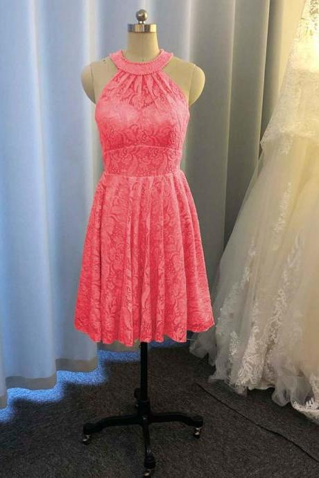 lace bridesmaid dresses, halter bridesmaid dresses, coral bridesmaid dress, pink bridesmaid dresses, new arrival bridesmaid dress, custom make bridesmaid dresses, new arrival bridesmaid dresses, custom make formal dress, 2020 evening dresses