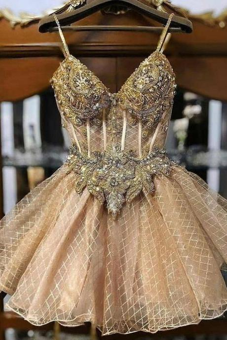 champagne prom dresses, lace prom dresses, sweetheart prom dresses, short evening dresses, cocktail dresses, new arrival evening dresses, 2021 party dresses, evening gowns, party dresses, 2021 evening gowns, sexy party dresses, shinning evening dresses, ball gown party dresses, mini homecoming dresses