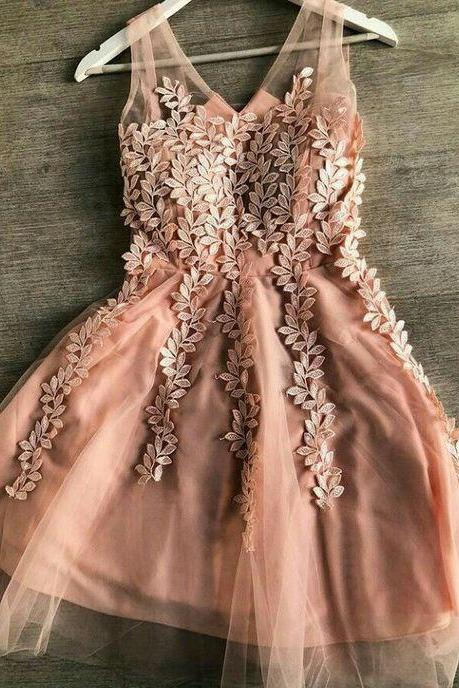 champagne prom dresses, lace prom dresses, flowers evening dress, new arrival evening dress, sexy party dress, 2021 party dresses, cheap formal dress, fashion evening dress,evening dress, 2021 party dresses, short homecoming dress