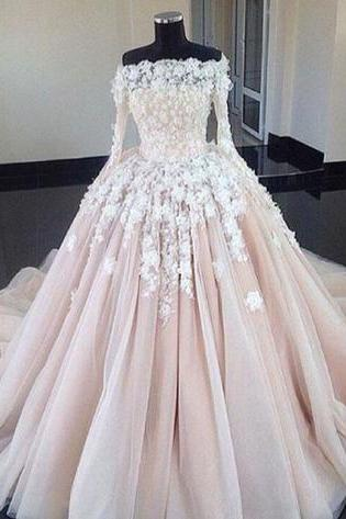 lace prom dresses, off the shoulder prom dresses, long sleeve prom dresses, ball gown prom dresses, flowers prom dresses, arabic prom dresses, cheap prom dresses, puffy evening dresses, tulle evening gowns, sexy evening gowns