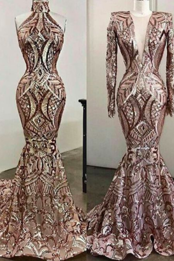 sequins prom dresses , 2021 formal dresses, custom make prom dresses, mermaid prom dresses, deep v neck prom dress, long sleeve prom dresses, shinning prom dresses, new arrival party dresses, sparkly evening dresses