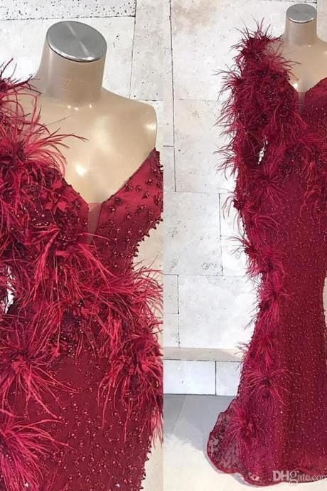 red prom dresses, 2021 prom dresses, beaded prom dresses, pearls prom dresses, court train prom dresses, custom make evening dresses, 2021 formal dress, custom make evening dresses, cheap party dresses, sexy formal dresses
