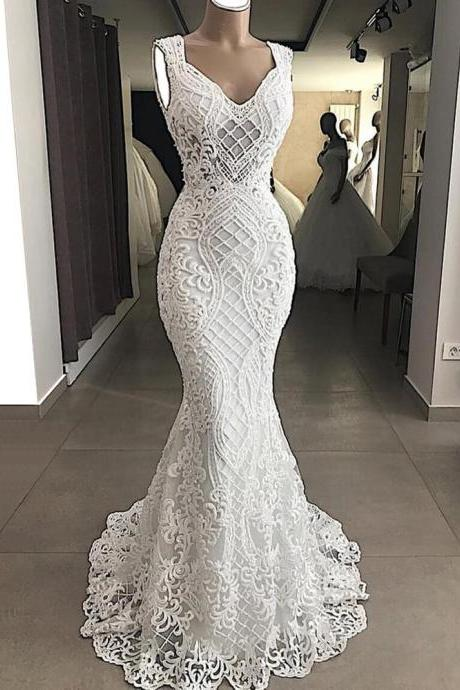 white prom dresses, 2021 prom dresses, mermaid prom dresses, fashion prom dress, lace evening dresses, fashion party dress, 2021 evening dress, custom make prom dress, newest evening gowns