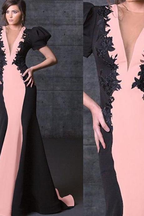Mermaid Prom Dresses, Black and Pink Prom Dresses, Lace Prom Dresses, Cheap Prom Dresses. short Sleeve Prom Dresses, Satin Prom Dresses, 2017 Prom Dresses, Newest Prom Dresses, Sexy Formal Dresses, Cheap Women Party Dresses, Simple Party Dresses