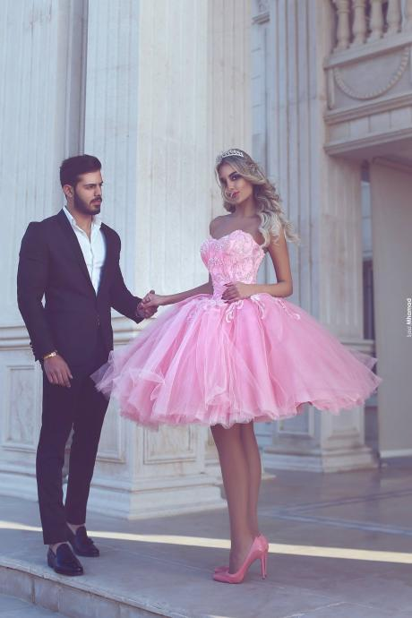 Short Homecoming Dresses, Lace Prom Dresses, Sweetheart Prom Dresses, Pink Prom Dresses, Pearls Prom Dresses. Tulle Cocktail Dresses, Backless Homecoming Dresses, Ball Gown Homecoming Dresses, Sexy Cocktail Dresses, Pink Graduation Dresses, 2017 Party Dresses