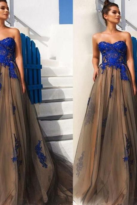 Black Prom Dresses, Sweetheart Evening Dresses, Backless Evening Gowns, Lace Appliques Prom Dresses, A Line Prom Dresses, Arabic Prom Dresses, Sexy Prom Dresses, Backless Prom Dresses, Long Evening Dress, Tulle Prom Dresses
