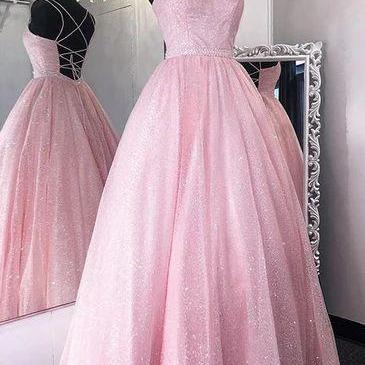 sparkly prom dresses, sequins prom dresses, shinning prom dresses, sweetheart prom dresses, pink evening dresses, a line prom dresses, pink evening gowns, new arrival prom dresses, pink formal dresses, evening gowns, 2021 party dresses